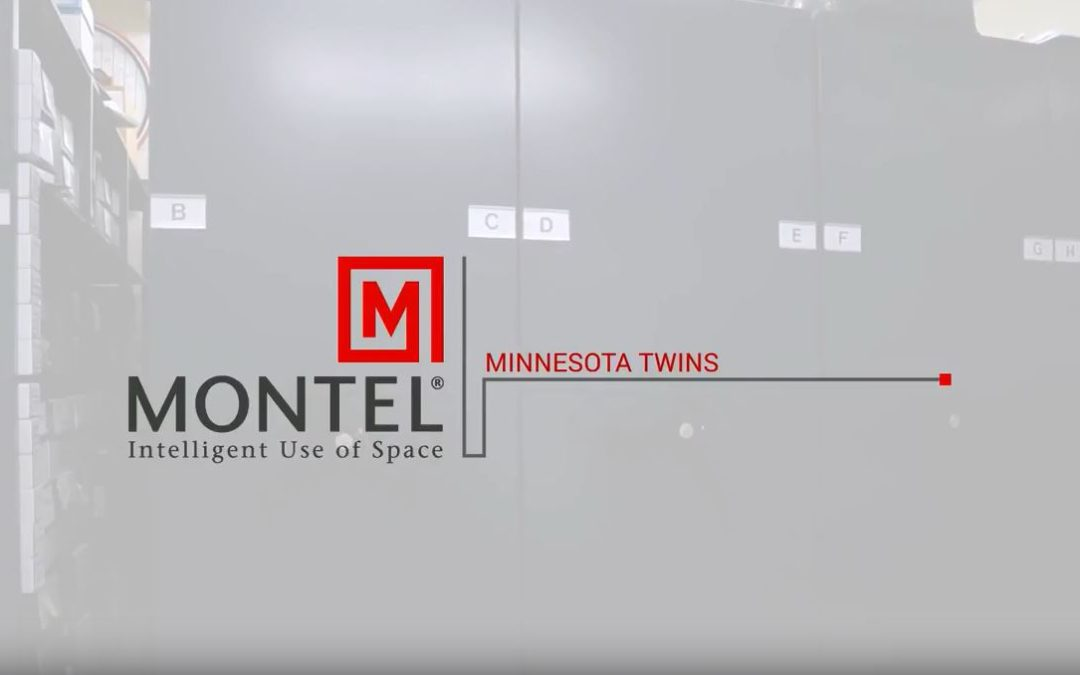 Minnesota Twins Cover all the bases with their Mobilex Mobile Shelving System